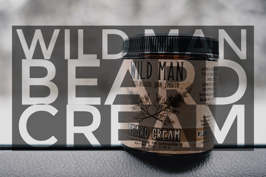 Wild Man Beard Cream : Essential beard gear