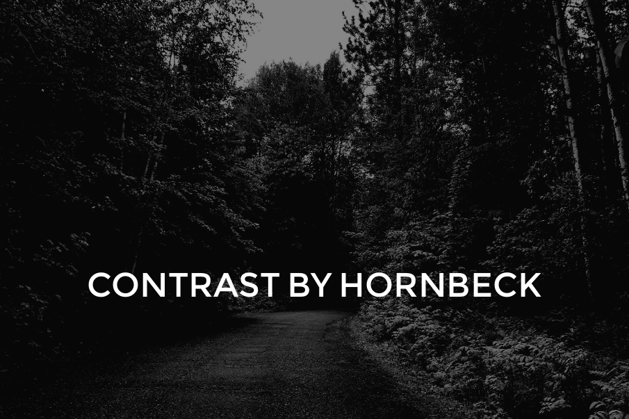 Contrast by Hornbeck – Learning to read light