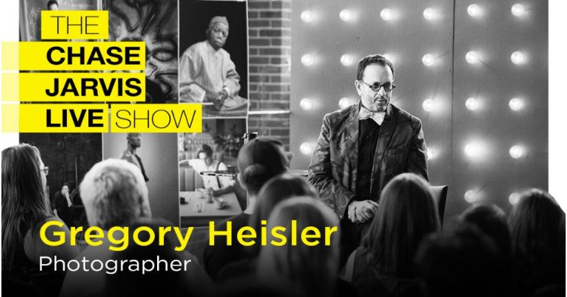 Recommended – The Chase Jarvis Live Show featuring Gregory Heisler