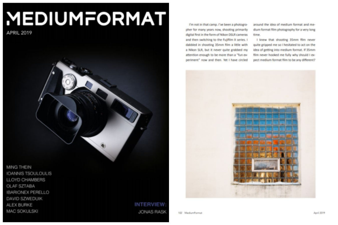 MediumFormat : April 2019 Issue