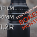 Fujifilm XF56mm f/1.2 R - Don't Fear the Bokeh Monster